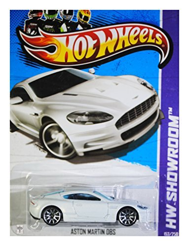 Hot Wheels 2013 Hw Showroom Aston Martin DBS White 153/250
