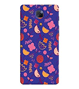 OnePlus 3 MULTICOLOR PRINTED BACK COVER FROM GADGET LOOKS