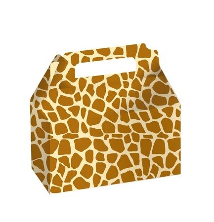 CAKE DECO COOKIE - CANDY BOX GIRAFFE - 1