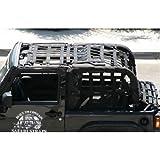 Warrior Safari Straps Long Cage Set 2007-2010 2 Door Jeep Wrangler JK