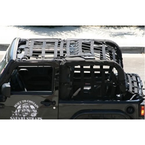 Warrior Safari Straps Long Cage Set 2007-2010 2 Door Jeep Wrangler JK