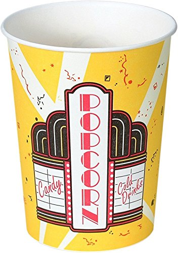 Solo Foodservice V32-00059 Popcorn Cup, 32 oz, Premier (Pack of 500) (24 Oz Popcorn Cups compare prices)