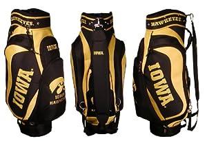 NCAA Iowa Team Cart Golf Bag by Team Golf