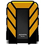 ADATA HD710 1TB USB 3.0 Waterproof/Dustproof/ Shock-Resistant External Hard Drive, Yellow (AHD710-1TU3-CYL)