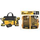 DEWALT-DCK296M2-20V-XR-Lithium-Ion-Brushless-Premium-Hammerdrill-and-Impact-Driver-Combo-Kit