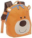 sigikid, Jungen und Mädchen, Mini Rucksack, Motiv Bär, Orange/Braun, 24220