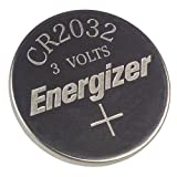 2 X Energizer CR2032 3V Lithium Coin Batteriesby Energizer