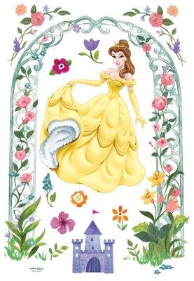 Imagen 2 de Grandes Belle Princess - Muro de los niños pegatina Inicio Art Deco Pegatinas de pared