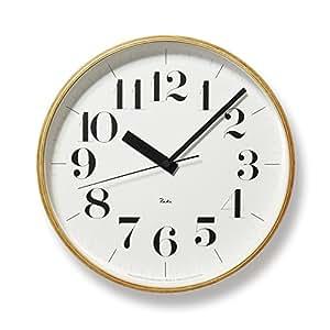 Lemnos RIKI CLOCK RC 電波時計 WR08-27