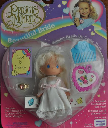 "Precious Moments ""Beautiful Bride"" Doll - 1"
