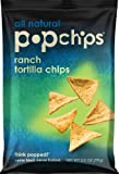Popchips Tortilla Chips, Ranch, 3.5-Ounce (Pack of 12)
