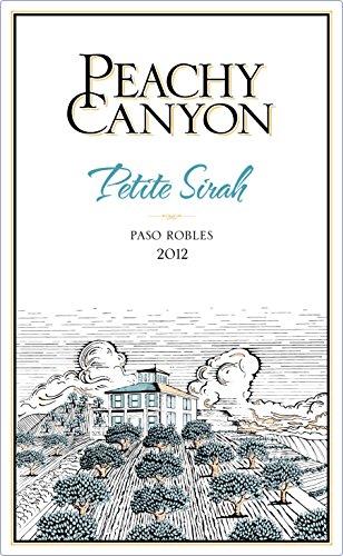 2012 Peachy Canyon Petite Sirah 750Ml