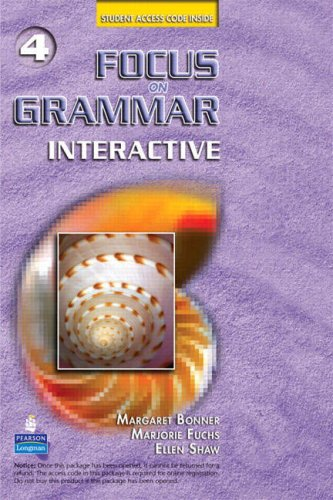 Focus on Grammar 4 Interactive Access Code