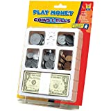 Educational Insights Play Money - Coins And Bills