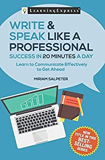 Book Cover: Write & Speak Like a Professional in 20 Minutes a Day