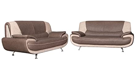3+2 sofas Faux Leather sofas