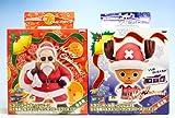 ドラゴンボール改・ワンピースDX亀仙人&チョッパーサンタクロースフィギュア(全2種セット+ポスターおまけ