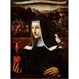Póster 60 x 80 cm: Ex Voto dedicated to St. Catherine of Siena de Italian School / Bridgeman Art Library - impresión...