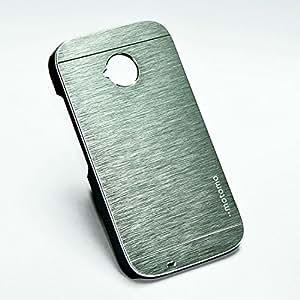 Motomo Back Cover For Motorola Moto E (2nd Gen) - Silver