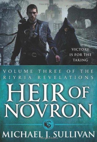 Heir of Novron (The Riyria Revelations, #3)