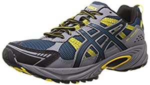 ASICS Men's Gel-Venture 4 Running Shoe,Mallard/Black/Yellow,11.5 M US