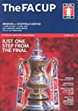 2003 FA Cup Semi Final Programme Arsenal v Sheffield United 13/04/2003