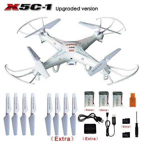 SYMA-X5C-1-Explorers-24G-4CH-6-Axis-Gyro-RC-Quadcopter-With-HD-Camera