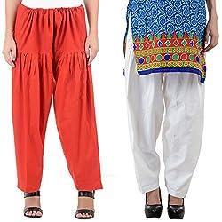 NumBrave Women's Extra ordinary Cotton Patiala Salwar