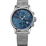 Hugo Boss Hugo Boss 1513441 Blue / Silver Stainless Steel Analog Quartz Men's Watch