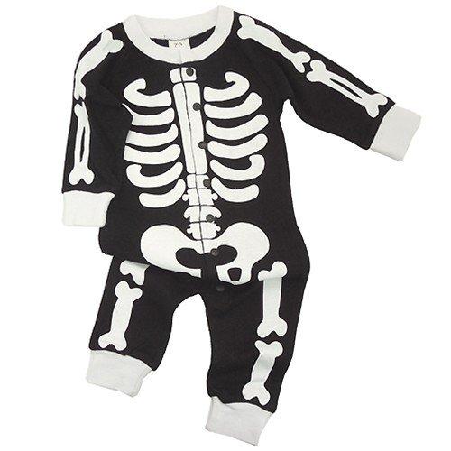 Bone/ほね◎長袖ベイビーロンパース☆赤ちゃん/ベビー服(コスプレ)通販☆【70cm】