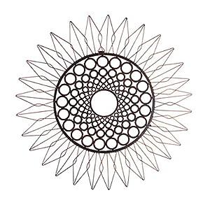 28in 'Sunflower' Metal Wall Art