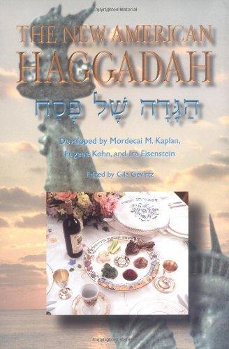 The New American Haggadah: Haggadah Shel Pesah