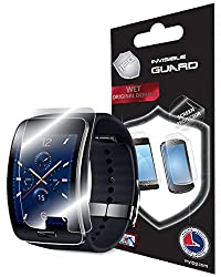 Samsung Galaxy Gear S SCREEN (2 Units) Invisible Phone Protector by IPG