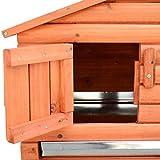 Pawhut-Outdoor-Guinea-Pig-Pet-HouseRabbit-Hutch-Habitat-with-Run