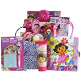 Dora the Explorer Accessory Gift Baskets Great Birthday or Get Well Basket for Girls Under 10