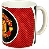 Man Utd Football Crest Mug