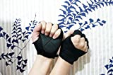Black Gym Body Building Training Fitness Gloves Sports Weight Lifting Gloves Exercise Cycling For Men And Women Fitness Sports Half Finger Gloves GYM Weight Lifting Wraps Body Building Workout Exercise Training Absorbing Sport Mitts Fitness Sports Half Finger Gloves GYM Weight Lifting Wraps Body Building Workout Exercise Training Absorbing Sport Mitts