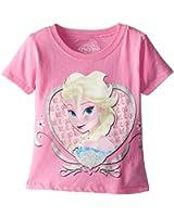 Disney Little Girls' Frozen Singing Elsa T-Shirt