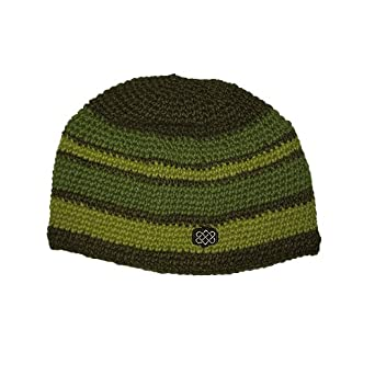 Sherpa Khunga Wool Winter Hat - Peepal Green / Chive / Subji Green