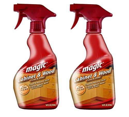 Magic Cabinet and Wood Cleaner, 14 Ounce (2 Pack) (Cabinet Wood compare prices)