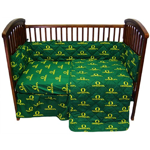 College Covers Oregon Ducks 5 Piece Baby Crib Set - 1