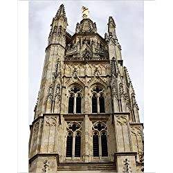 Photographic Print of Pey Berland tower, Bordeaux, Gironde, Aquitaine, France, Europe