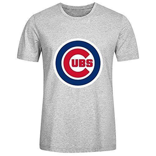 mlb-chicago-cubs-team-logo-crew-neck-t-shirts-for-men-100-cotton-medium