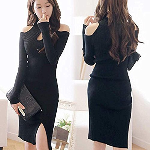 Ideal4dress Sexy Womens Off Shoulder Bodycon Pencil Dresses