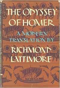 The odyssey of homer a modern translation by richard lattimore
