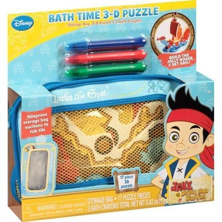 Disney Bath Time 3-d Puzzle - 1