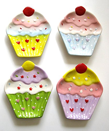 Cupcake Design Kitchen Utensil Spoon Rest Holder Stove Top Counter (Cupcake Spoon Rest compare prices)