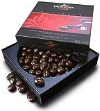 Valrhona Equinoxe Noir, dark chocolate enrobed nuts