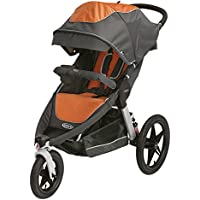 Graco Relay Click Connect Jogging Stroller - Tangerine