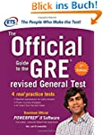 The Official Guide to the GRE revised...